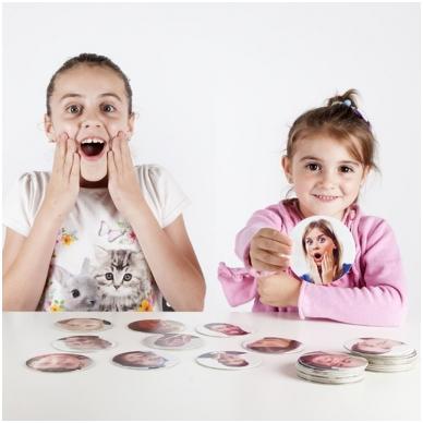 """Žaidimų kortelės ,,Identifikuokime ir valdykime emocijas"""""""