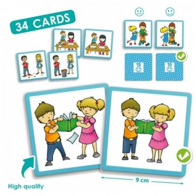 """Žaidimų kortelės ,,Tinkamas elgesys mokykloje"""""""