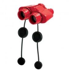 Žiūronai Super, 40 mm objektyvo skersmuo, raudoni