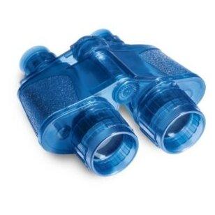 Žiūronai Super, 40 mm objektyvo skersmuo, mėlyni
