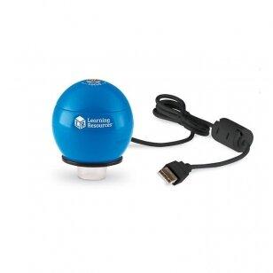 """""""Zoomy ™ 2.0"""" rankinis skaitmeninis mikroskopas (mėlynas)"""
